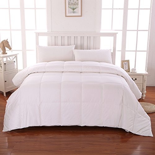 Cottonloft Cotton Filled Medium Warmth Comforter, Full/Queen