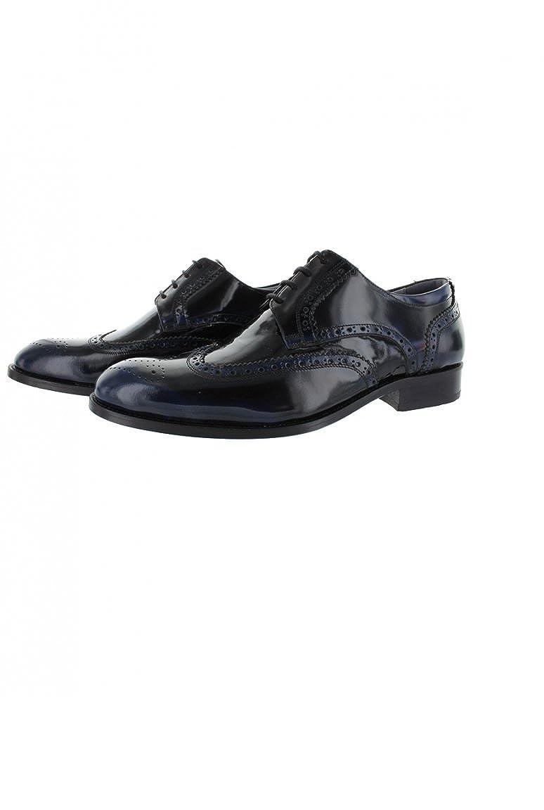 Loisirs Chaussure Derby Homme Lacet 4 Trous Noire Dymastyle