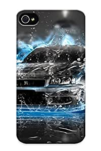 Appearance Snap-on Case Designed For Iphone 4/4s- Nissan Skyline Gt-r (best Gifts For Lovers) by supermalls
