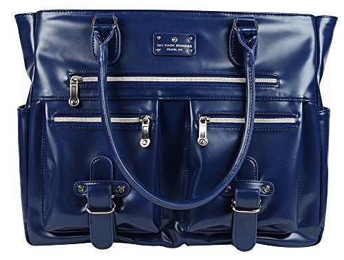 6 Pack Fitness Expert Renee Meal Management Tote - Navy