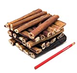 ValueBull Odor-Free 6 Inch Jumbo Bully Sticks for Dogs, 25 Count