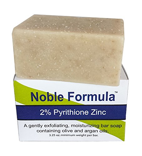 Honey 5 Oz Jar (Noble Formula 2% Pyrithione Zinc (ZnP) Argan Oil Bar Soap, 3.25)