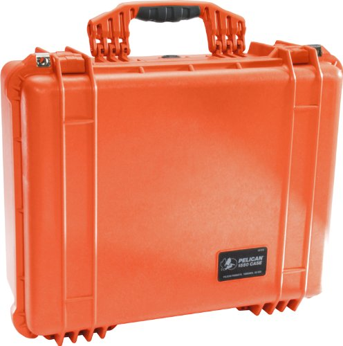 Pelican Products 1550-005-150 Pelican 1550EMS Medium Case with Organizer and Divider (Orange)