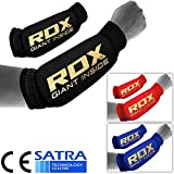 RDX MMA Forearm Support Brace Boxing Sleeve Pads Guard Compression Gym Wrap Padded Protector (CE Certified by SATRA)