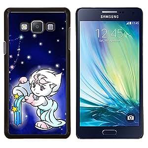 LECELL--Funda protectora / Cubierta / Piel For Samsung Galaxy A7 A7000 -- Naturaleza Mar Olas --
