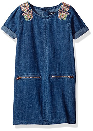 Limited Too Toddler Girls Casual Dress  More Styles Available   Medium Blue Denim 15  3T