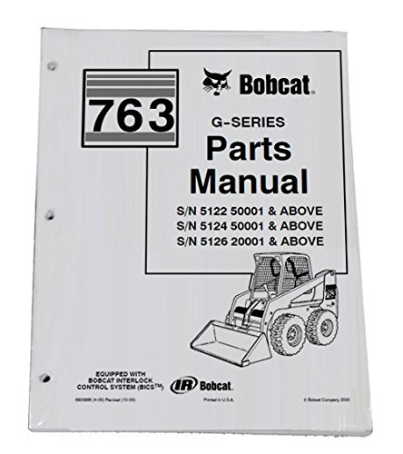 Amazon Bobcat 763 Skid Steer Parts Catalog Part Number
