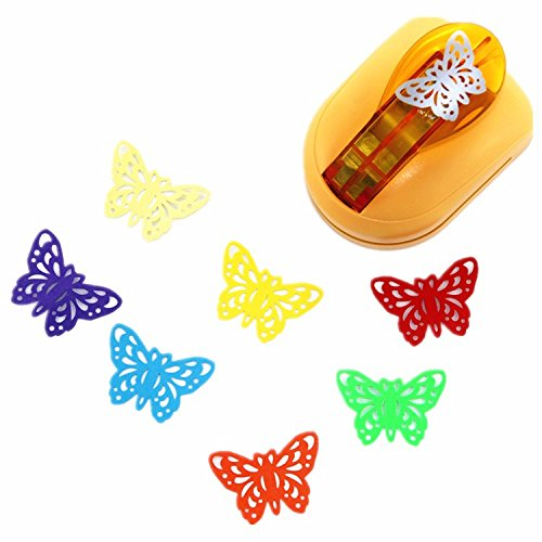 Somnr 33cm butterfly punches limited edition large craft punches decorative hole punch very beautiful puncher ()