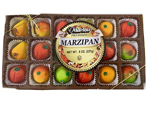 Marzipan Kosher - Marzipan by Marlow [FOOD] 18 pc. Assorted Fruit candy