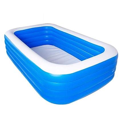 Lztet Rechteckige Aufblasbare Pool Swim Center Familie