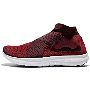 NIKE Mens Free RN Motion Flyknit 2017 Running Shoe Black/Dark Grey-Anthracite-Volt 9.0 (9.5 D(M) US, Tough Red/Port Wine)