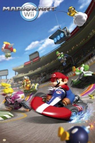 poster kart Amazon.com: Mario Kart   Nintendo Gaming Poster (Size: 24