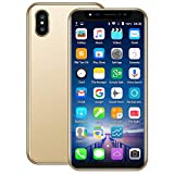 Smartphone-5.8 inch Ultra Android 6.0 Quad-Core 1GB+4GB+Extra 16GB DualSIM Smart Cellphone (Gold)