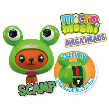 Moshi Monsters Micro Mega Heads - Scamp