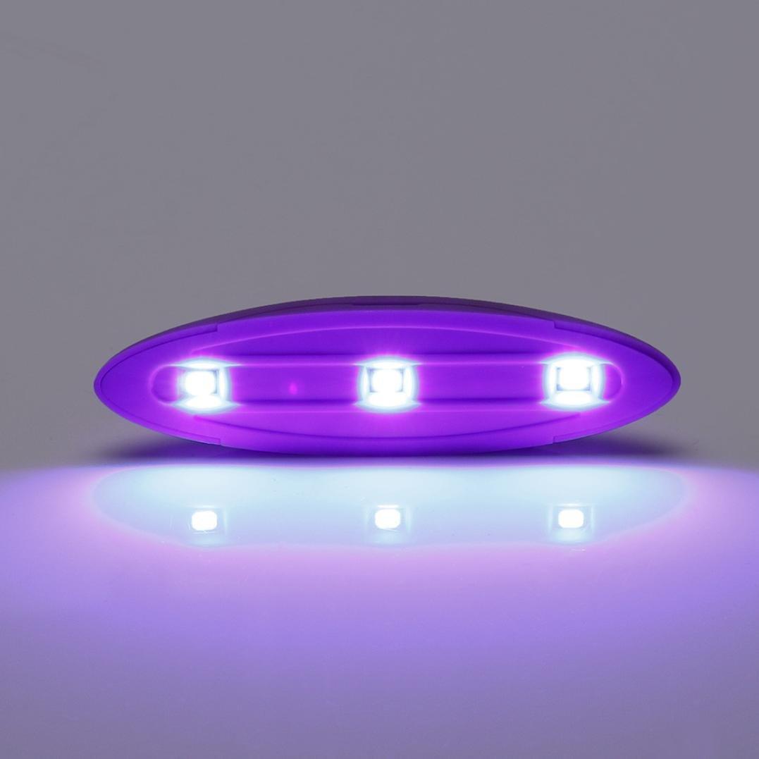 Prime Day Amazon:Mini UV Nail Gel Séchage Lampe Léger Nail Gel Polonais Sèche Nail Art Machine (A) ZzZz