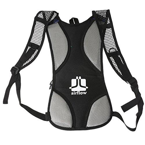A-szcxtop 2L Outdoor CamelBak idratazione borsa mountain borsa pieghevole zaino da ciclismo escursioni arrampicata sacchetto acqua movimento zaino