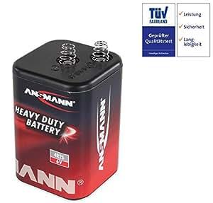 Pila seca, bloque batería tipo 4R25, 6V, 7–9Ah