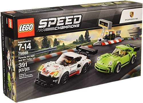 Lego Speed Champions Porsche Rsr and 911 Turbo 3.0 75888 Building Kit (391 Piece), (911 Turbo)