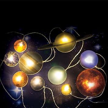 Unbekannt Fizz Creations Solar System Planeten LED Lichterkette ...