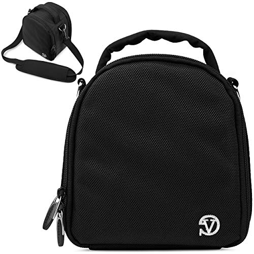 VanGoddy Laurel Onyx Black Carrying Case Bag for Nikon CoolPix Series Compact to Advanced Digital Cameras