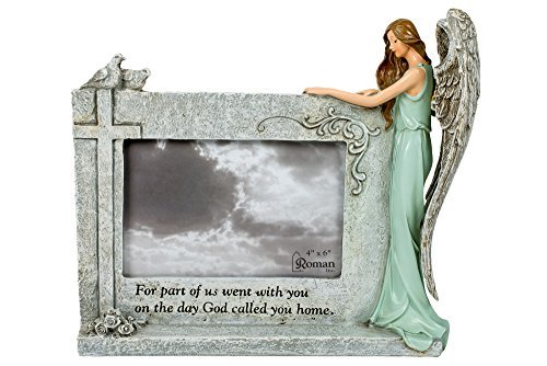 God Called You Home Angel Bereavement In Memory 4 x 6 Photo Stone Picture Frame