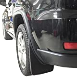 Red Hound Auto 2011-2020 Compatible with Jeep Grand Cherokee Mud Flaps Mud Guards Splash Molded Front Rear 4pc