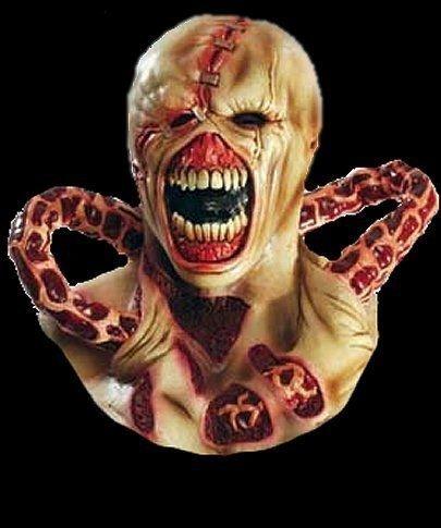 SOPHIE Nemesis Resident Evil Latex Mask Zombie
