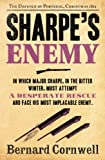 Front cover for the book Sharpe's Enemy by Bernard Cornwell