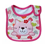 Hosaire Drool Bibs Cute Cartoon Layer Infant Toddler Baby Waterproof Saliva Towel Baby Cotton Bibs
