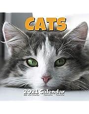 Cats 2021 Calendar: Lover Gifts