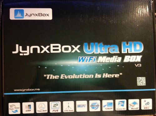 Jynxbox Ultra HD V3 FTA Satellite Receiver with Built-in WiFi & JB200