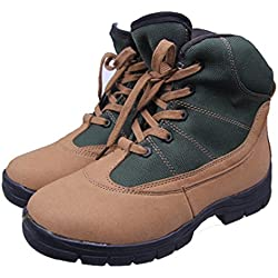 YINHAN® Men's Lace Up Military Combat Work Desert Ankle Boot