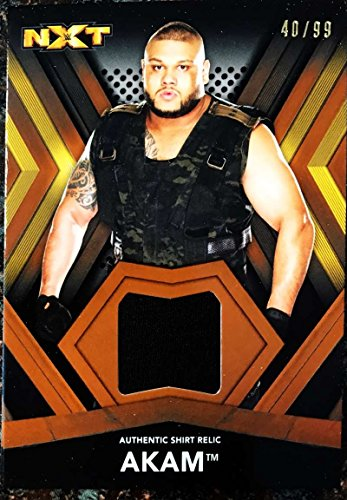 2017 Topps NXT Shirt Relics #SR-AK Akam NM-MT MEM from NXT