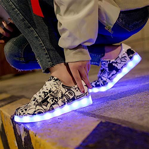 Hongsheng Porter Fluorescent Femmes De Hommes Les Chaussures Ghost New luminous Pour Femmes 7 Et Peuvent On1RRaqEw0