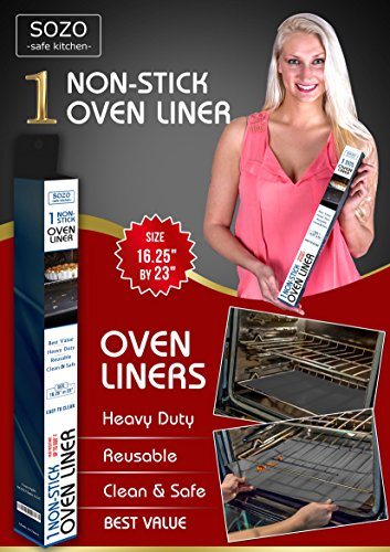Oven Grill Liners Black Liner