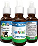 PET RELIEF Potty Training For Puppies, Dog & Puppy Potty Training Spray, Urine Repellent,! 30ml Natural Potty Training Aid, Stop Peeing Spray, Piddle Place, No Side Effects! Made USA