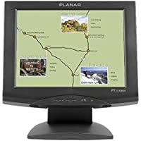 Planar Systems 997-3198-00   Model Touch Screen Monitor, PT1510MX, Resistive with Serial Or USB Driver and Speakers, 15 Height, Black