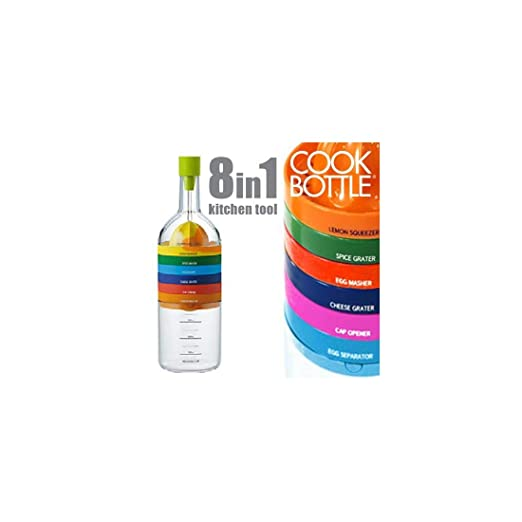 4 opinioni per appetitissime Cook Bottle utensili da cucina, Multicolore, 9x 28.2x 9cm