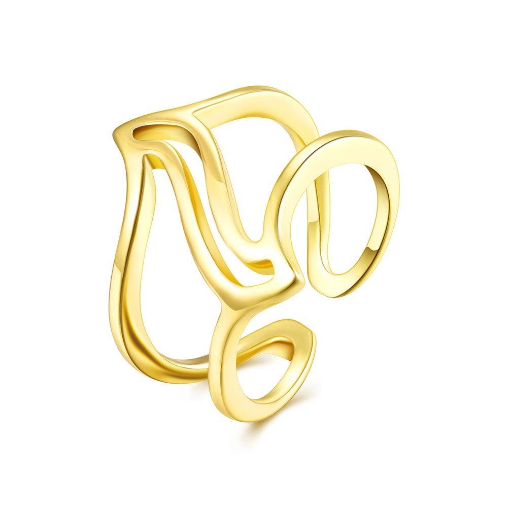 YXYP Impression 1 pcs anillos anillo elegante anillo de moda accesorios de joyerí a niñ a regalo de san valentí n anillo de bodas anillo de lujo anillo romá ntico AKR008