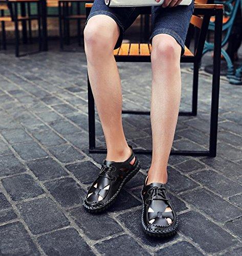 Koyi sulla Nero Uomo Aperte Caviglia rrCwP5qv