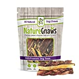 Cheap Nature Gnaws Beef Combo Pack (6 Count) – (2) Braided Bully Sticks, (2) Tendon Chews & (2) Jerky Springs for Dogs