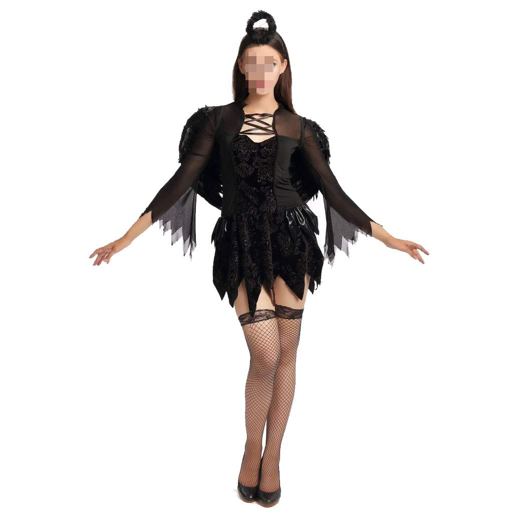 KODH New Night Angel Evil Falda corta Traje de demonio Cosplay de ...
