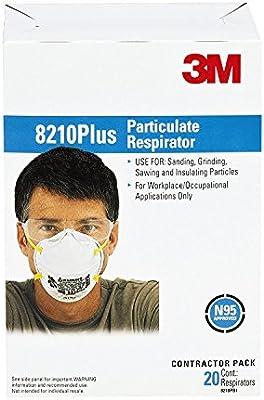 Desechables Standard 3m Partículas 5 De 8210 Plus N95 Respirador