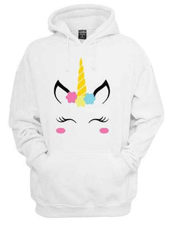 Descrizione prodotto. Felpa Unicorno con Cappuccio e Orecchie Pullover  Donna Inverno Autunno Sweatshirt Tumblr Tinta Unita Swag Felpe 5f8e5ff5d3f