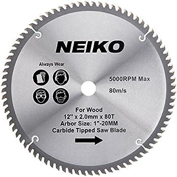 Neiko 10768a 12 carbide tipped miter saw blade 80 tooth neiko 10768a 12 carbide tipped miter saw blade 80 tooth keyboard keysfo Images