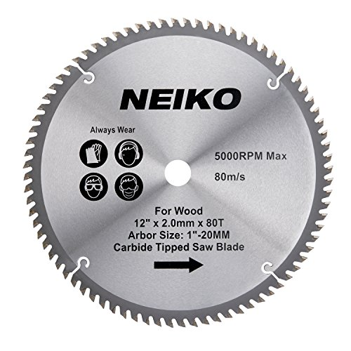 Tipped Circular Carbide Saw Tooth - Neiko 10768A 12