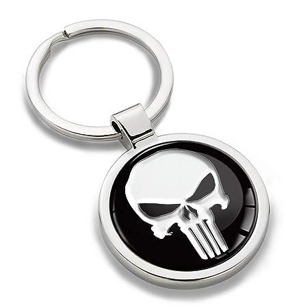 Skino Llavero Metal Keyring Keychain Punisher Skull cráneo ...
