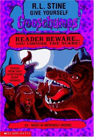 Night in Werewolf Woods by R.L. Stine