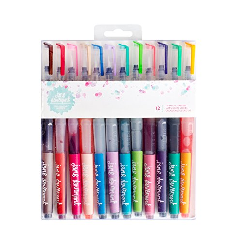 Jane Davenport Mixed Media 12 Piece Mermaid Markers by Jane Davenport