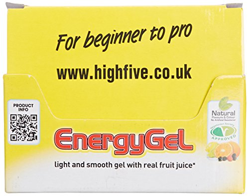 High 5 Energy Gel - 20 x 38g Sachet - Summer Fruits